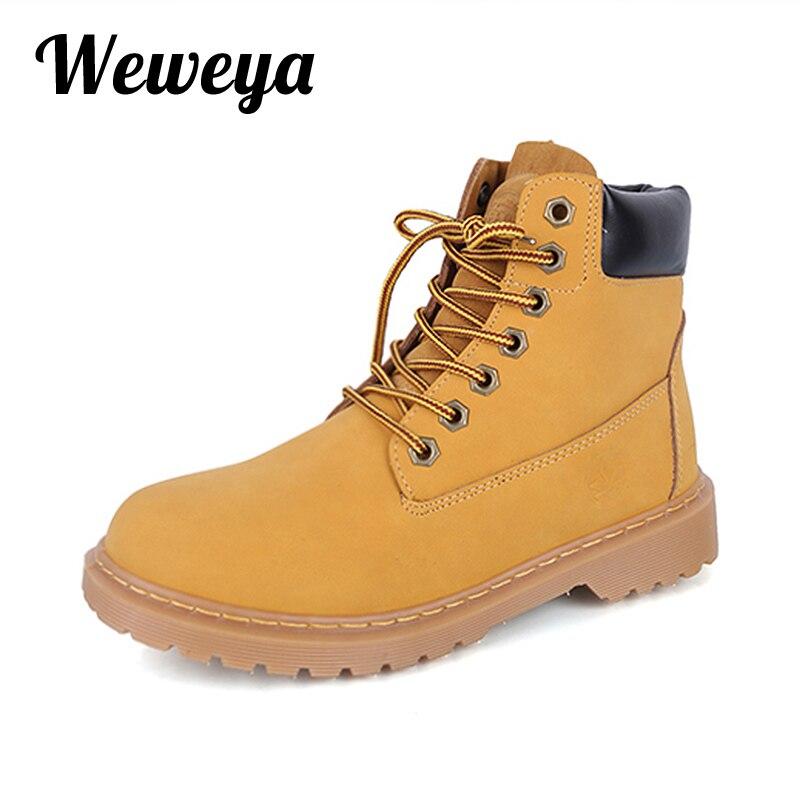 Weweya Neue Marke Herbst Winter Wasserdicht Schnee Stiefel Frauen Warme  Plattform Kurze Stiefel Schuhe Frauen Klassische 09e99b410f