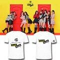 ALIPOP Kpop Coreano DUAS VEZES mini-3th Album coaster LANE 2 Batida de Algodão Tshirt K-POP T Shirts T-shirt PT374