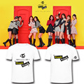 ALIPOP Kpop Korean TWICE Mini 3th Album coaster LANE 2 Knock Cotton Tshirt K-POP T Shirts T-shirt PT374