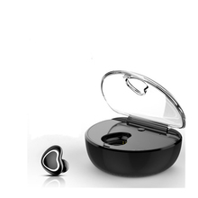 X7 in-ear bluetooth music headset mini single ear movement earplug then carry the charging box