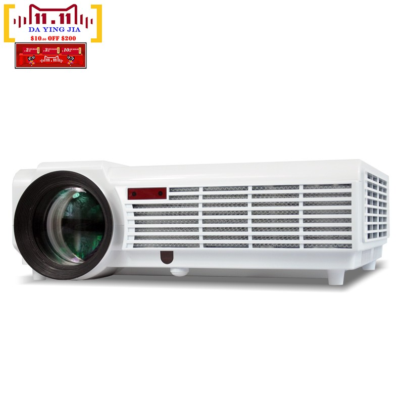 5500lumens Full HD LED 3D Home Cinema Projector 1280×800 1080P LCD Digital Video HDMI Proyector TV Beamer