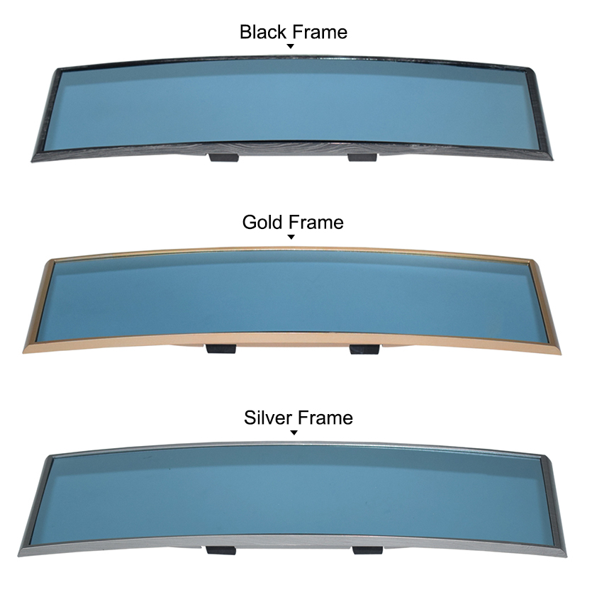 Deluxe Anti Glare Car Interior Rear View Mirror Gadget