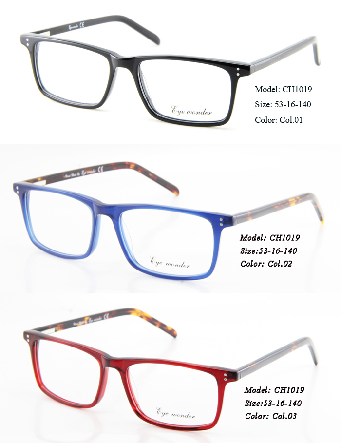 61c172bc26e Wholesale High Quality Handsome Acetate Optical Frames and Metal Spectacle  frames for Men Eyewear Accessories Brille-in Eyewear Frames from Apparel ...