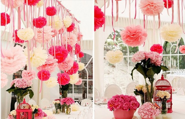 10pcs 15cm handmade flowers wedding decoration wedding paper flowers 10pcs 15cm handmade flowers wedding decoration wedding paper flowers ball pom poms for wedding decoration 5z mightylinksfo