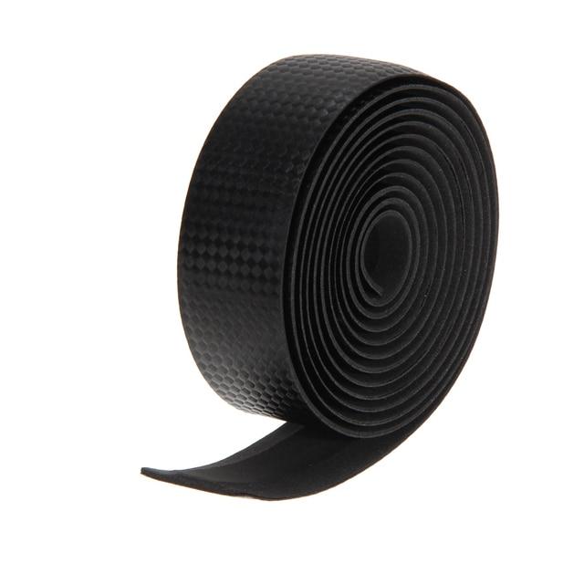 1 Pair Road Bike Handlebar Tape Cork Anti-slip Bicycle Carbon Handle Belt Wrap Bartape +2 Bar Plug Bicycle Parts Accessories