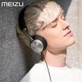 Original meizu hd50 hd 50 auriculares estéreo de alta fidelidad auriculares de metal auriculares con cable con micrófono para meizu mx5/mx4/mx4 pro samsung