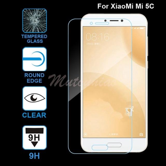 MuTouNiao For Xiaomi Mi 5C Accesorios Clear 9H Premium Tempered Glass Screen Protector Anti-scratch Film For Xiaomi Mi 5C