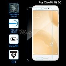 MuTouNiao עבור Xiaomi Mi 5C Accesorios ברור 9H פרימיום מזג זכוכית מסך מגן נגד שריטות סרט לxiaomi mi 5C