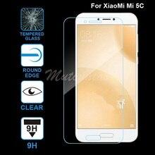 MuTouNiao dla Xiaomi Mi 5C Accesorios wyczyść 9H Premium szkło hartowane Screen Protector Anti scratch Film dla Xiaomi Mi 5C