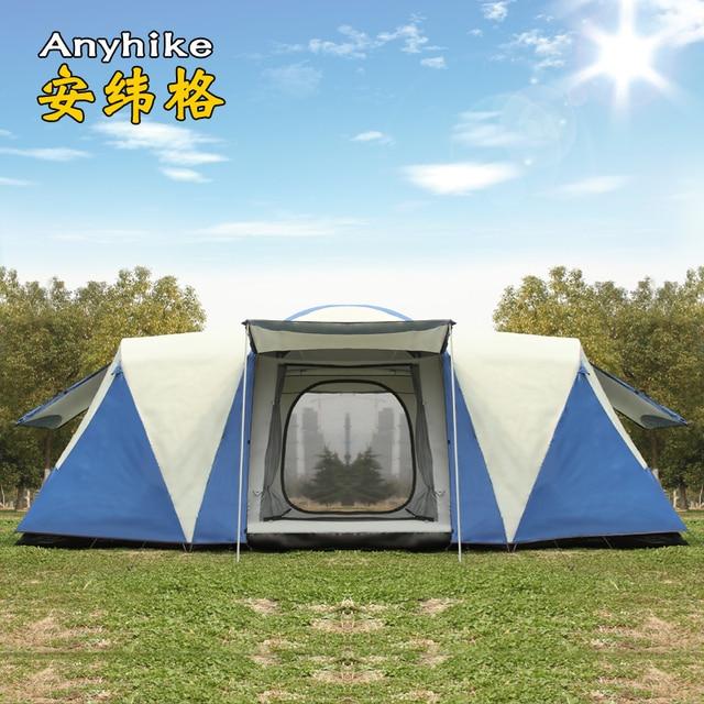 8 10 12 pessoa 2 quarto 1 sala de estar enorme anti chuva abrigo festa base da família caminhadas pesca praia alívio acampamento ao ar livre tenda