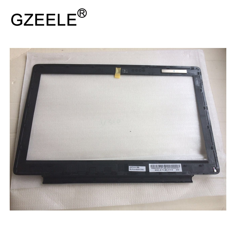 GZEELE NEW for Lenovo U310 LCD Front Bezel Cover Screen Frame White Black 90200787 90200786 LCD Bezel FRONT Cover Display CASE new laptop lcd display front screen back cover bezel