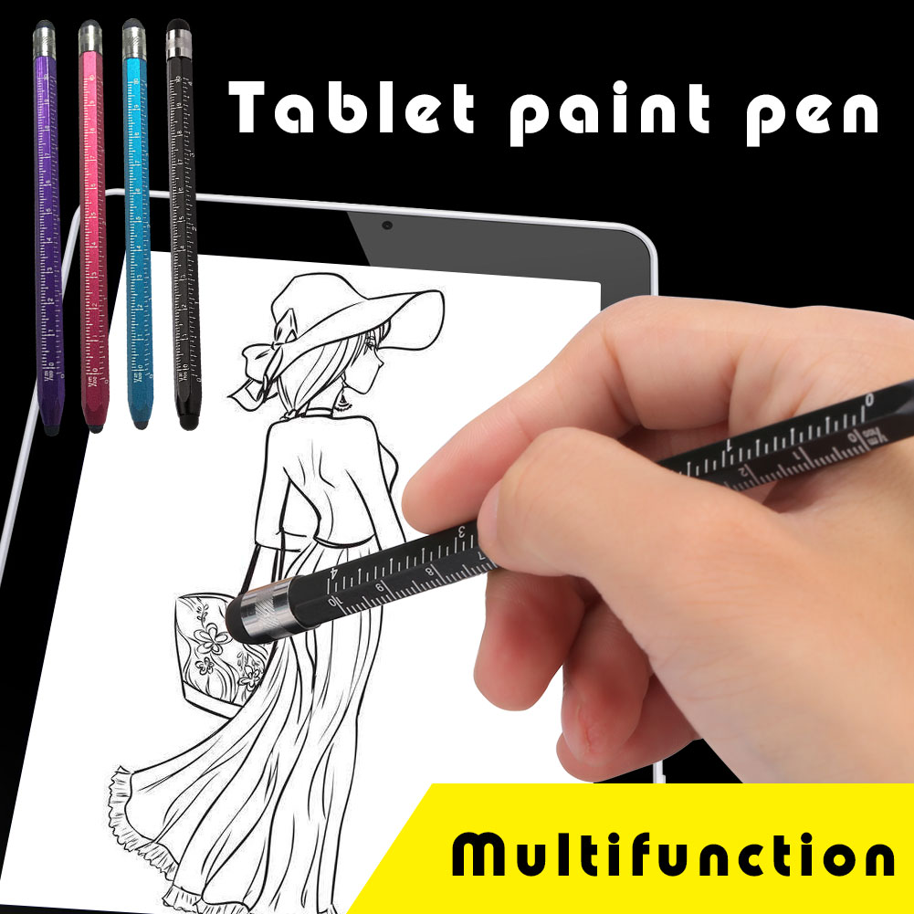 14.3CM Touch Screen Pencil Point Stylus Capacitive Pen E-Book Reader Portable For IPhone MP4 Universal