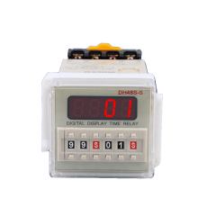 Silver contact relay, DH48S-2Z digital display time relay, AC110/220V DC12V/24V/36Vtime relay