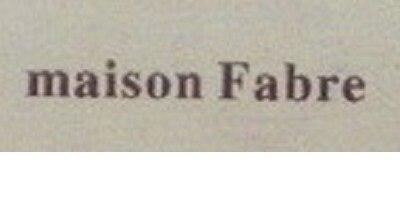 Лого бренда Maison Fabre из Китая