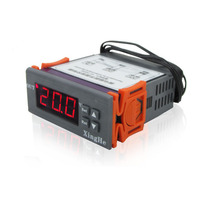 100 240V 10A Digital Temperature Controller Thermocouple Thermostat Measuring Range 50 110 Degree With Sensor Thermometer