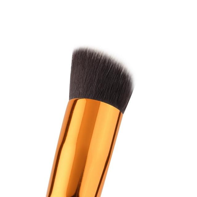 1pcs Professional Cosmetic Make up Powder Foundation Brush Blush Angled Flat Top Base Liquid Cosmetic Makeup Brush Tool