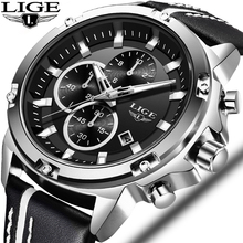 LIGE Mens Automatic Date Sport Watches