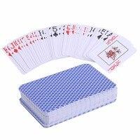 Водонепроницаемый прочного ПВХ скраб Тип Пластик игральные карты новизна карты покер Pokerstar Настольная игра для Техас игры