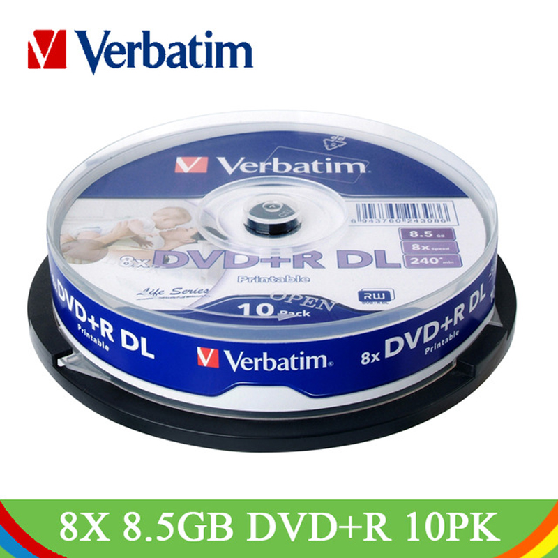 photograph regarding Inkjet Printable Dvd named US $11.5 49% OFFVerbatim 8X 8.5GB Printable DVD+R DL Blank Disc 10Pk Spindle Whole lot White Broad Inkjet Recordable Double Twin Layer Smaller DVD Disk-in just