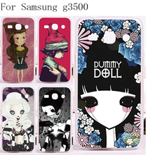 Tele Phone Case Cover For Samsung Galaxy Core Plus G3500 G3508 Case Newest Unique High Quality Smournful Lady Function Shell