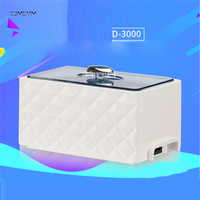 D 3000 Ultrasonic Bath Cleaner 0.45L Tank Baskets Jewelry Watches Injector Ring Dental 35W Mini Ultrasonic Cleaner 220V/50 Hz