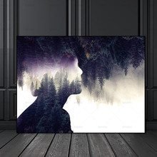 Art Wall Picture canvas painting pictures no frame decor poster art prints figure on canvas decoration for living room Wall art canvas painting wall art pictures prints colorful woman on canvas no frame home decor wall poster decoration for living room