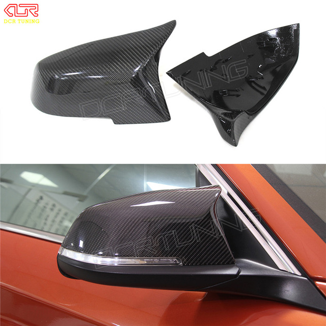 For BMW 2 Series F22 F23 2014 2015 2016 218i 220i 228i M235i M3 M4 Look Replacement style Carbon Fiber Mirror Cover m style carbon mirror cover for bmw 1 2 3 4 x serie f20 f21 f22 f23 f30 f31 f32 f33 f36 x1 e84 m3 m4 look replacement