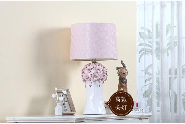 Roze Slaapkamer Lamp : Online shop creatieve bruiloft kamer warm roze bloemen tafel