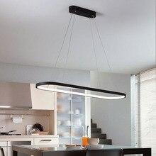 Modern pendant light LED pendant lamp pendant line fixtures lustres de cristal for dining living room bedroom Office light