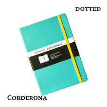 Dot Grid Hard Cover A5 PU Bullet Notebook Elastic Band Travel Puntos Dotted Journal Bujo Pointed Writing Pads стоимость