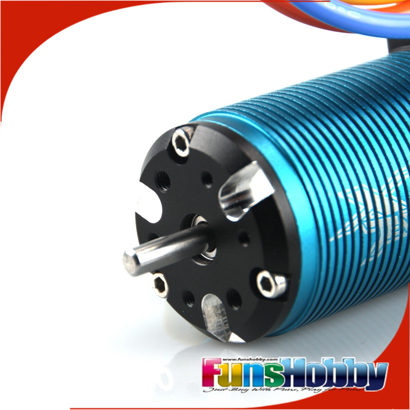 Tenshock X802V2 1:8 6 Pole RC Electric Micro Brushless DC Motor For 1/8 RC Buggy Hongnor/Ofna LX2E Axial Cars.(Free Shipping)
