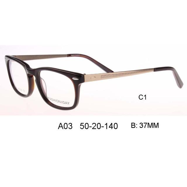 2017 moda pontos homens frame ótico óculos limpar óculos de prescrição de pessoas do sexo masculino Grandes óculos de armação quadrada Personalizável
