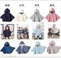 Детские толстовки младенческой толстовка 2015 новорожденных осень зима двусторонняя плащ из одежды высокое качество мальчики одежда