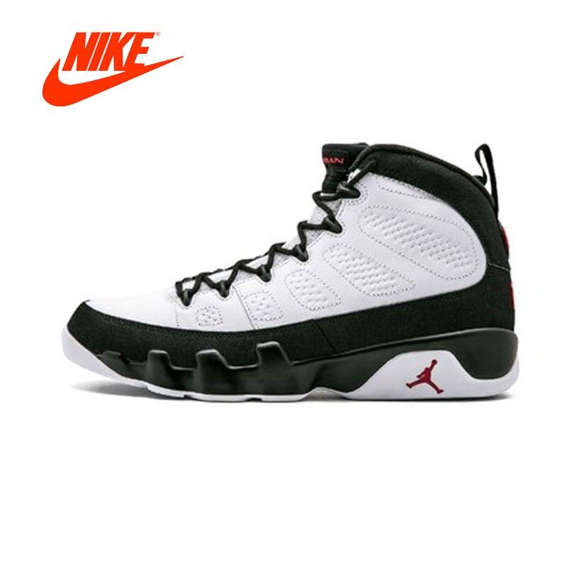 Original Nouvelle Arrivée Authentique NIKE Air Jordan 9 Rétro Mens Basketball Chaussures Sneakers Respirant Sport En Plein Air de Bonne Qualité