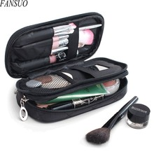 Fashion Brand Mini Double Women Travel Necessaries Makeup Storage Beauty Cosmetic Bag Wash Toiletry Organizer Make up Brushes