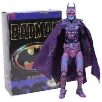 릴 장난감 배트맨 1989 클래식 비디오 게임 외관 PVC 액션 피규어 소장 모델 장난감 7 인치 18 센치메터