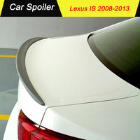 Fit For Lexus IS250 IS300 IS350 2008 2009 2010 2011 2012 2013 ABS Plastic Exterior Rear Wing Spoiler for Lexus IS
