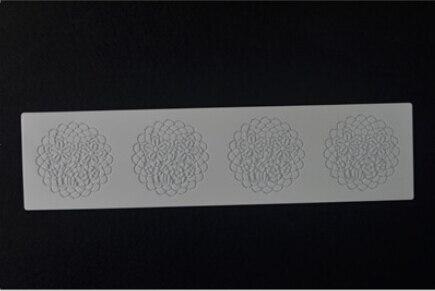 CT5002 Silikonový dort forma květinové cukrové krajky plísní dekorace pro svatební dort