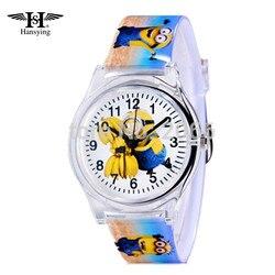 Eye despicable me minions cartoon design 10m waterproof watch precious milk dad cute children clock kid.jpg 250x250