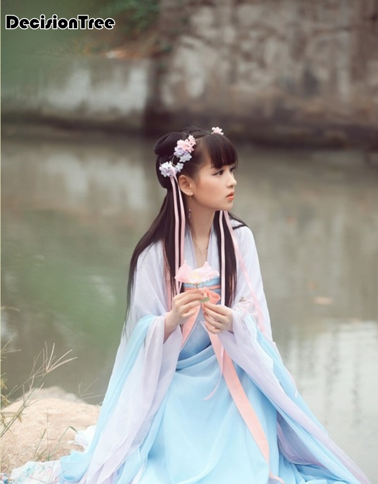 2020 Chinese Ancient Costumes Princess Clothes Fairy Women's Clothing Tang Dynasty Female Hi Q Hanfu Women Costume