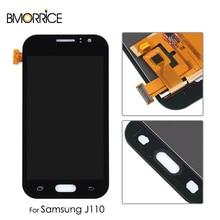 цены LCD Display For Samsung Galaxy J1 Ace J110 J110F J110H J110M J110L J110FM Touch Screen Digitizer Assembly Adjustable Brightness