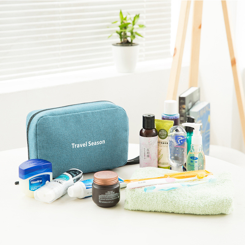 c4b8dd14e9b6 Travel Cosmetic Bag Men Wash Shaving Bag Waterproof Women toiletry ...