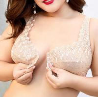 85 110 B C D E F cup plus size X Large front button bras Push up bras full cup brassiere women's lingerie Front Closure bra