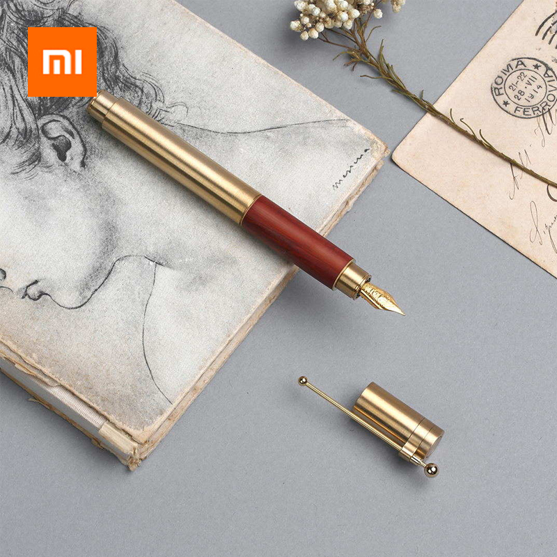 Xiaomi Luxury Fountain Pen Ink Pen Set Classic 0.6mm Fine Nib High Quality With Ink Capsules Smooth Writing Ink Pen Gift BoxXiaomi Luxury Fountain Pen Ink Pen Set Classic 0.6mm Fine Nib High Quality With Ink Capsules Smooth Writing Ink Pen Gift Box