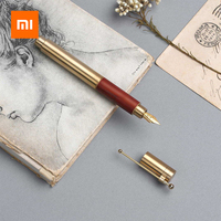 Xiaomi Luxury Fountain Pen Ink Pen Set Classic 0.6mm Fine Nib High Quality With Ink Capsules Smooth Writing Ink Pen Gift Box