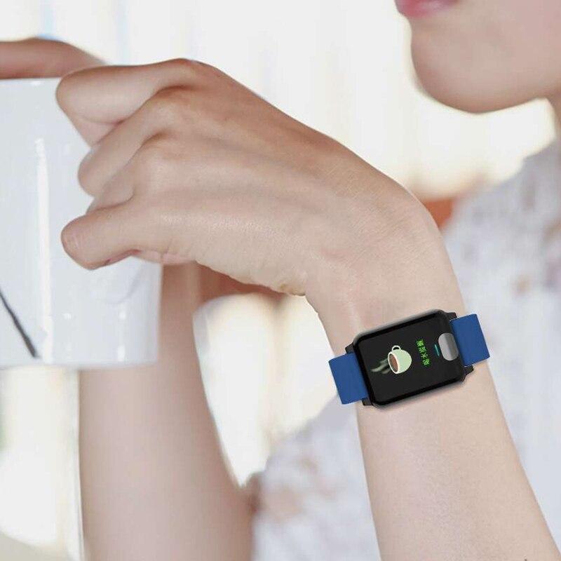 E04 3d Dynamische Ui Blutdruck Handgelenk Band Herz Rate Monitor Ppg Ekg Smart Armband Fitness Tracker Intelligente Armband Intelligente Elektronik