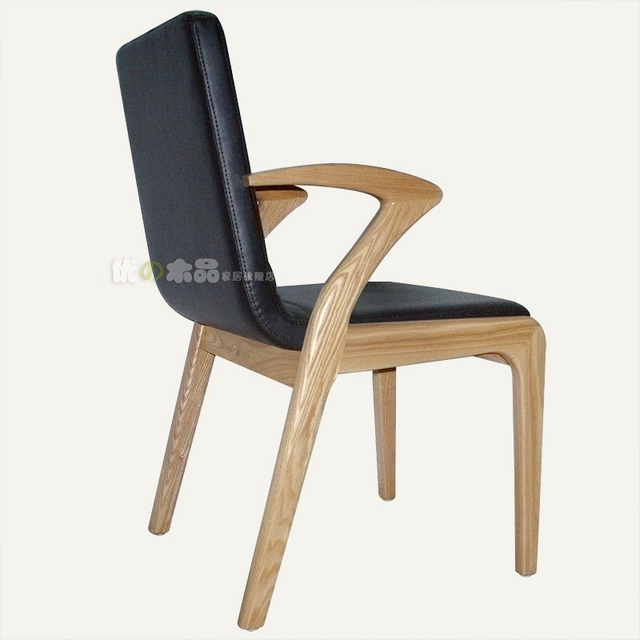 Us 571 2 Ash Solid Wood Dining Tables And Chairs Korean Minimalist Dining Chair Cushion Office Chair Armchair Grade Soft Wood Furniture Di Kursi
