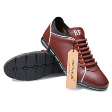 Merkmak Big Size 38-48 men shoes Casual fashion leather shoes for men summer men flat shoes