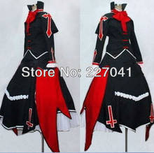 Van new blazblue rachel alucard anime cosplay kostuum gratis verzending(China)