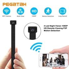 1080 P экшн-камера с Wi-Fi подключением Камера HD, Wi-Fi, P2P сигнализации видео Запись Обнаружение движения Безопасность пульта дистанционного управления Камера с ночным видением